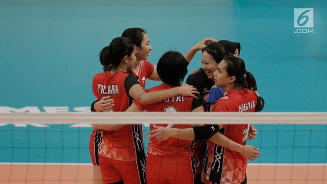 Voli Asian Games 2018: Indonesia Bungkam Hong Kong - Asian ...