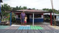 Program Bantuan Stimulan Perumahan Swadaya (BSPS) atau bedah rumah untuk 50 unit rumah tak layak huni (RTLH) di dua kampung wisata di Sentani, Papua. (Dok. Kementerian PUPR)