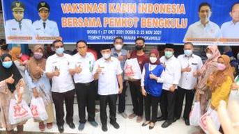 Capai Target Vaksinasi COVID-19, Pemkot Bengkulu Gandeng Kadin Indonesia