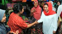 Calon Wakil Gubernur Jawa Timur Puti Guntur Soekarno. (Liputan6.com/Dian Kurniawan)