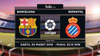 La Liga Barcelona Vs Espanyol (Bola.com/Adreanus Titus)