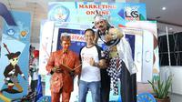 Dedy Budiman selaku Champion Sales Trainer yang juga juri dalam bidang kompetensi Marketing Online di LKS SMK Nasional/Stella Maris.