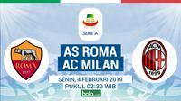 Serie A: AS Roma Vs AC Milan (Bola.com/Adreanus Titus)