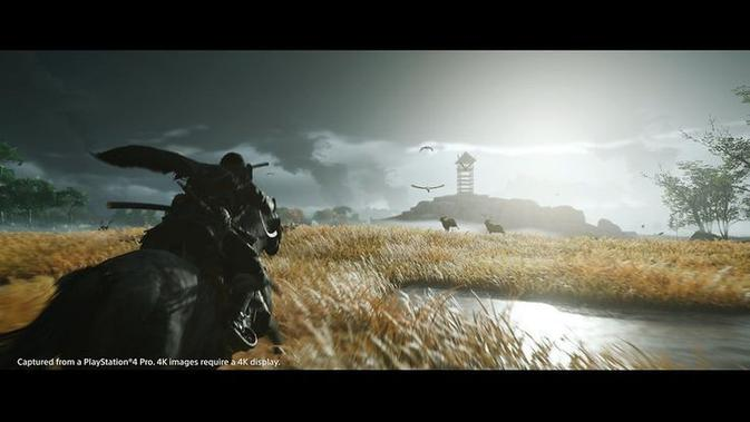 Ghost of Tsushima. (Doc: Istimewa)