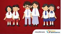 Ilustrasi seragam sekolah di Indonesia, dari SD, SMP sampai SMA. (dok.Instagram @smpn1kalianda/https://www.instagram.com/p/Bzg_j2lnlww/henry