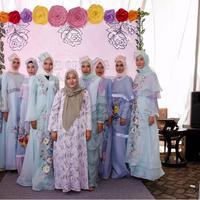 Inilah koleksi hijab yang bisa kamu gunakan saat Ramadan nanti dari desainer asal Bandung, Anggia Handmade. (Foto: Istimewa)