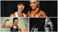 5 Atlet Cantik yang memiliki tubuh berotot. (Awakening Fighters/Instagram)