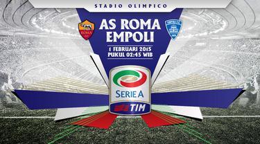 Prediksi AS Roma vs Empoli (Liputan6.com/Yoshiro)