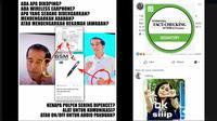Cek Fakta -Jokowi diduga menggunakan alat bantu, faktanya?