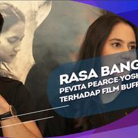 Pengalaman Yoshi Sudarso Main Film di Tanah Air dan Rasa Bangga Pevita Pearce Terhadap Film Buffalo Boys.
