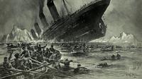 Jurnalis investigasi Inggris, William Thomas Stead, menulis cerita fiktif tentang tenggelamnya kapal penumpang raksasa, 26 tahun sebelum Titanic memulai pelayarannya. (The Vintage)