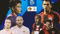 BRI Liga 1 - Duel Antarlini - Persik Kediri Vs Persipura Jayapura (Bola.com/Adreanus Titus)