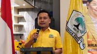 Ketua DPD II Partai Golkar Kota Surabaya Arif Fathoni. (Dian Kurniawan/Liputan6.com)