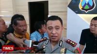Kapolres Banyuwangi AKBP Donny Adityawarman. (TIMES Indonesia/Erwin Wahyudi)