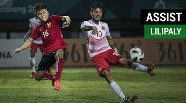 Berita video assist pemain gelandang Timnas Indonesia U-23, Stefano Lilipaly, saat menghadapi Laos pada cabang sepak bola putra Asian Games 2018.