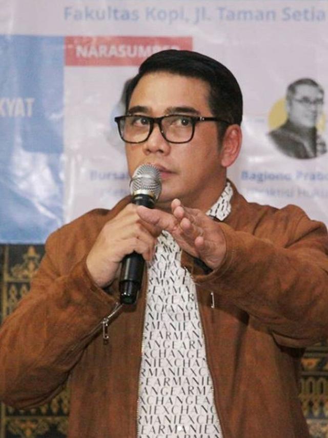 Ketua Umum Persatuan Artis Film Indonesia (Pafindo) H.R.M. Bagiono, SH (Instagram/ https://www.instagram.com/p/Bu-1d_YgR6f/)
