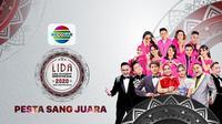 LIDA 2020 Konser Pesta Sang Juara digelar live Indosiar, Selasa 929/9/2020) mulai pukul 19.00 WIB