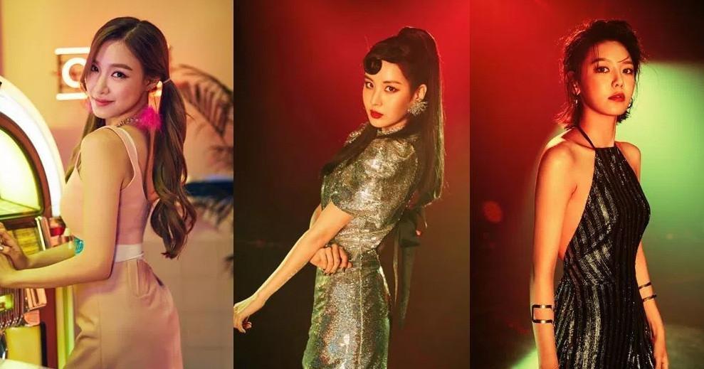 Tiffany, Sooyoung, dan Seohyun hengkang dari Girls Generation pada pertengahan 2017 ini (Soompi)