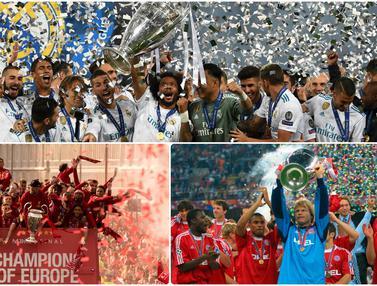 5 Klub Juara Liga Champions Terbanyak