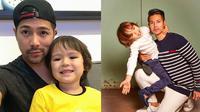 Potret Kebersamaan Erick Iskandar dan Keponakannya. (Sumber: Instagram.com/erickbanaiskandar)