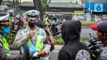 Hari Pertama Operasi Patuh Jaya 2021, Polisi Temukan 2.560 Pelanggar