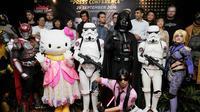 Indonesia Comic Con akan diselenggarakan pada 1-2 Pktober 2016 di Jakarta Convention Center (JCC) Senayan, Jakarta Pusat,
