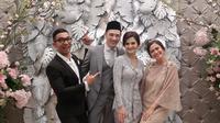 Cut Tari dan Richard Kevin resmi menikah hari ini Kamis (12/12/2019) dan resepsi dilakukan di Taman Kadjoe, Ampera, Jakarta Selatan. (Sumber: Instagram/@ersamayori)
