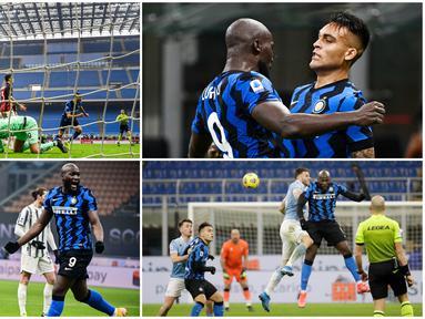Lautaro Martinez dan Romelu Lukaku kian kompak dan tajam. Teranyar keduanya mencetak gol ke gawang AC Milan pada laga derbi della Madonnina. Jika pasangan ini terus konsisten hingga akhir kompetisi bukan tak mungkin Inter Milan akan meraih Scudetto musim ini.