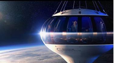 Mau Berwisata ke Luar Angkasa dengan Balon Udara? Siapkan Rp1,8 Miliar