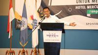 Staf Ahli Menaker Bidang Kerja Sama Internasional, Suhartono aat mewakili Menteri Ketenagakerjaan membuka acara Seminar Pengembangan dan Inovasi Pendidikan Tinggi Vokasi untuk Menciptakan SDM Unggul.