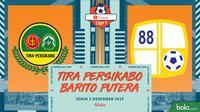 Shopee Liga 1 - Tira Persikabo Vs Barito Putera (Bola.com/Adreanus Titus)