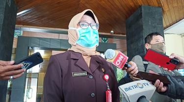 Kepala Dinas Kesehatan (Dinkes) Provinsi Jawa Timur Herlin Ferliana. (Dian Kurniawan/Liputan6.com)