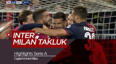 Highlights Serie A, Inter Milan Kalah dari Cagliari