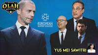 Kolom Olah Bola.com: Yus Mei Sawitri - Liga Super Eropa (Bola.com/Adreanus Titus)
