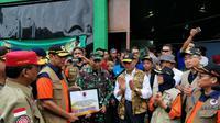 BNPB Sumbang Rp 350 Juta untuk Penanganan Darurat Banjir Bandang di Lebak (Dok: BNPB)