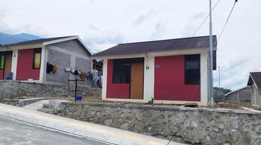 Pembangunan hunian tetap (huntap) tahap 1B untuk korban gempa dan tsunami di Sulawesi Tengah (Sulteng)