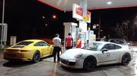 Porsche Asia Pacific mengajak sejumlah jurnalis otomotif Asia Tenggara untuk menghadiri gelaran Sportcar Together Day dan Porsche Carrera Cup Asia di Thailand. (Arief/Liputan6.com)