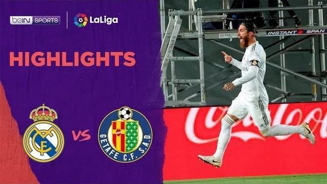Berita Video Highlights La Liga, Real Madrid Menang Tipis Lawan Getafe 1-0
