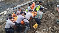 Saeful (40), pekerja tambang di galian pasir Cikahuripan, Kabupaten Cianjur, ditemukan tewas setelah tertimbun Senin (2/12/2019) lalu. (Dok. Basarnas)