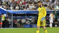 Penjaga gawang tim nasional Spanyol, David de Gea. (AFP/Georges Gobet)
