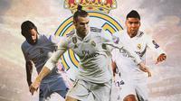 Real Madrid - Isco, Gareth Bale, Casemiro (Bola.com/Adreanus Titus)