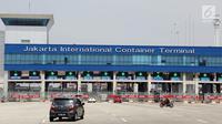 Suasana sepi terlihat di JICT di Tanjung Priok, Jakarta, Kamis (3/8). Aksi Mogok ini di mulai hari ini Kamis 3 Agustus hingga Kamis depan sehingga menyebakan total dari kerugian aksi tersebut diperkirakan sekitar Rp 200 miliar. (Liputan6.com/Johan Tallo)