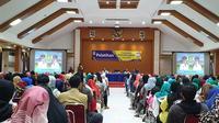 Pemkot Tangerang melalui Bidang UKM pada Dinas Koperasi dan UKM menyelenggarakan Pelatihan Pemasaran Produk UMKM secara online.