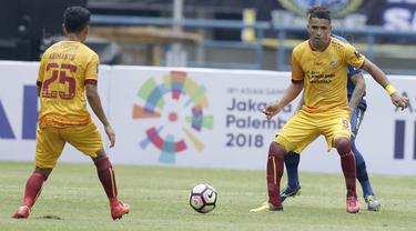 Sriwijaya FC, Alberto Goncalves, Piala Presiden 2018