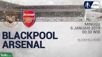 FA Blackpool Vs Arsenal (Bola.com/Adreanus Titus)