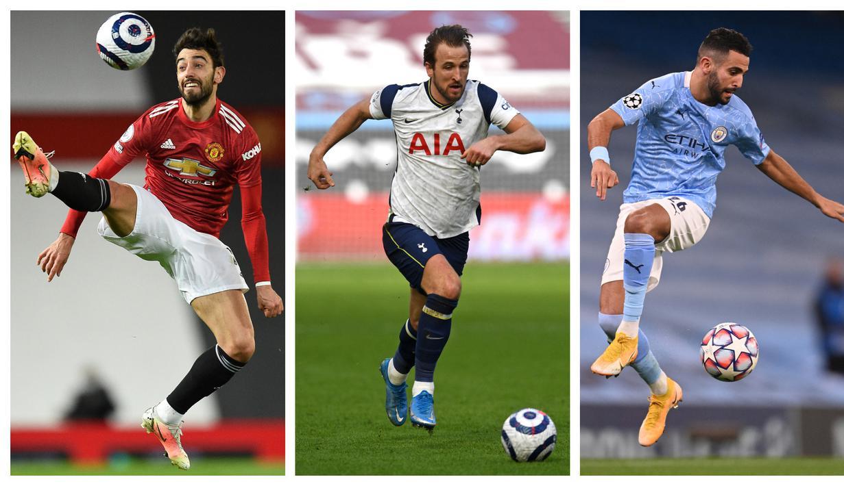 Pagelaran Liga Premier Inggris 2020/2021 telah selesai dengan Manchester City sebagai juaranya. Tak heran jika tiga pemainnya masuk ke dalam deretan skuat Dream Team Premier League 2020/2021 versi laman statistik Whoscored. Berikut pilihan skuat tim tersebut. (Foto: Bagaskara Lazuardi)