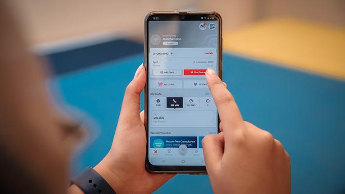 Versi terbaru aplikasi MyTelkomsel (Foto: Telkomsel)