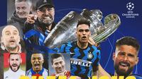 Liga Champions - Ilustrasi Liga Champions (Bola.com/Adreanus Titus)