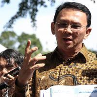 Ahok siapkan rencana terkait Perppu Kebiri yang telah ditandatangai Jokowi. (Faizal Fanani/Liputan6.com)