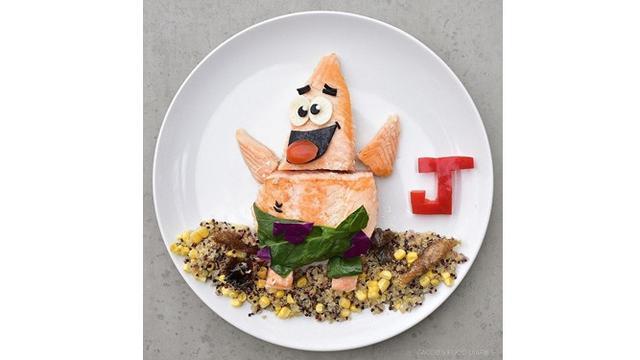 7 Kreasi Makanan Sehat Berbentuk Kartun Ini Kreatif Banget Hot